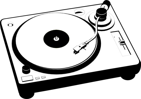 image library stock Turntable Vector http