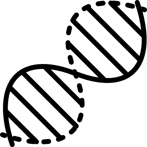 vector royalty free library Dna clipart black and white. Icon page