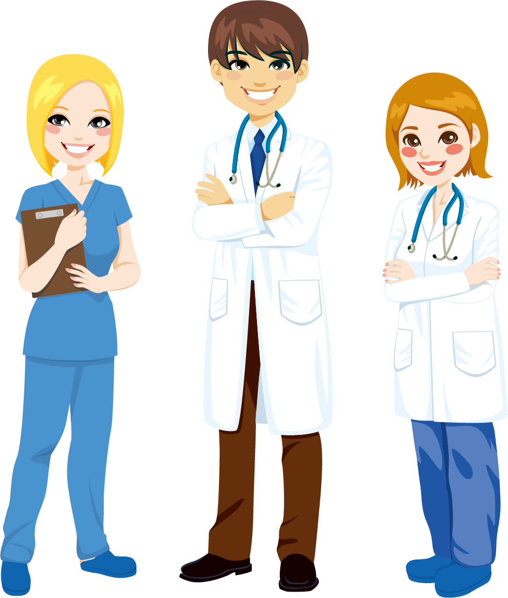 image free stock Vector doctor health worker. Male nurse clipart at