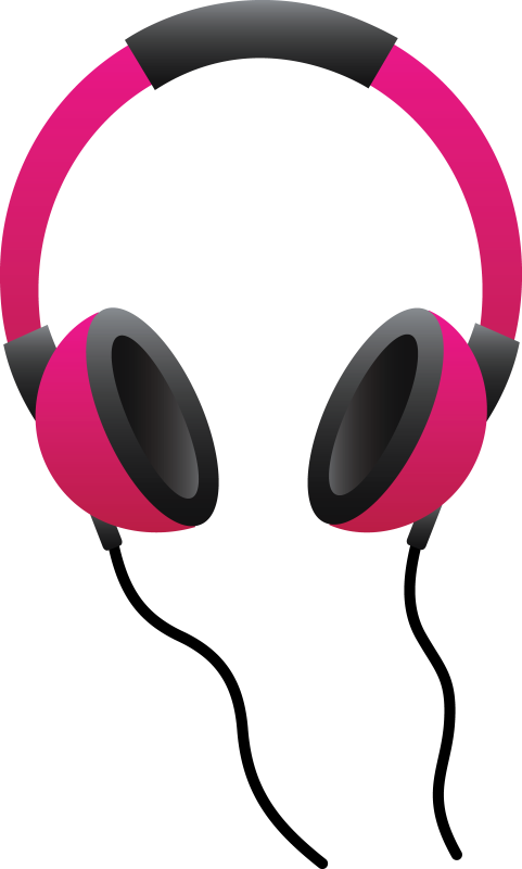 picture freeuse Headphones Clipart music headphone