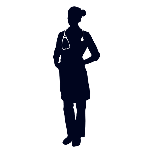 clipart black and white Vector doctor meaning. Silhouette at getdrawings com