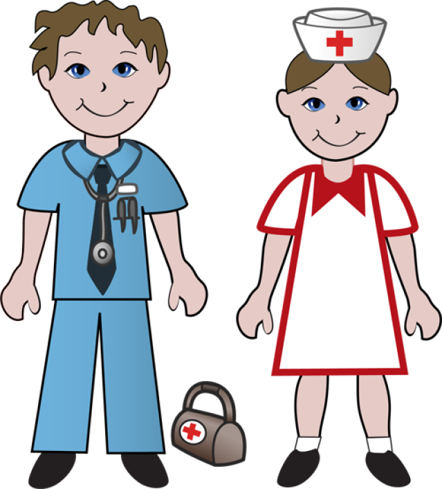 graphic free library And nurses . Doctors clipart