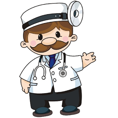 svg free stock Funny Doctor