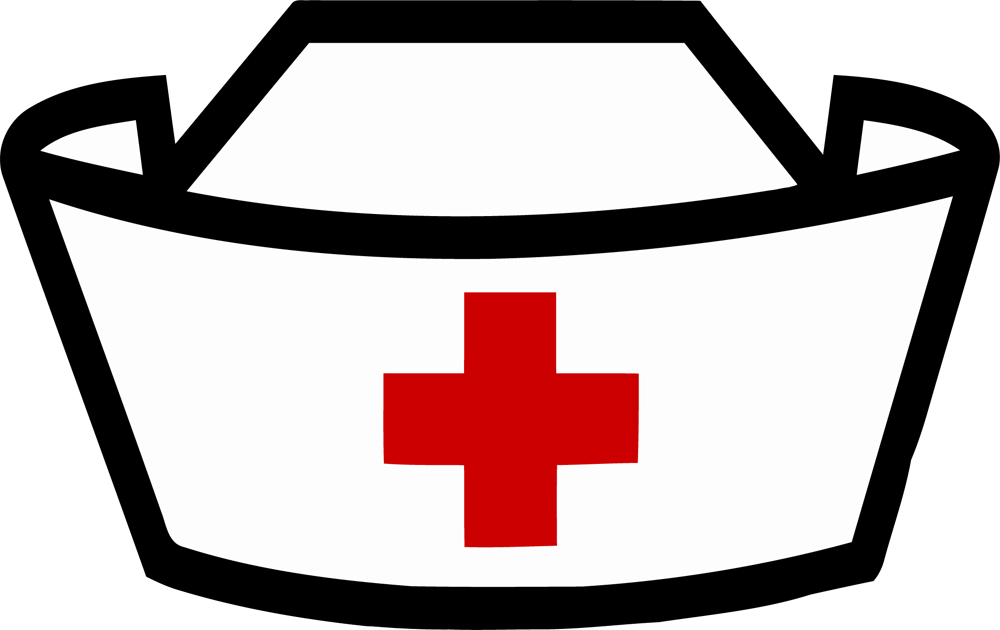 clip library library  collection of nurse. Doctors clipart hat