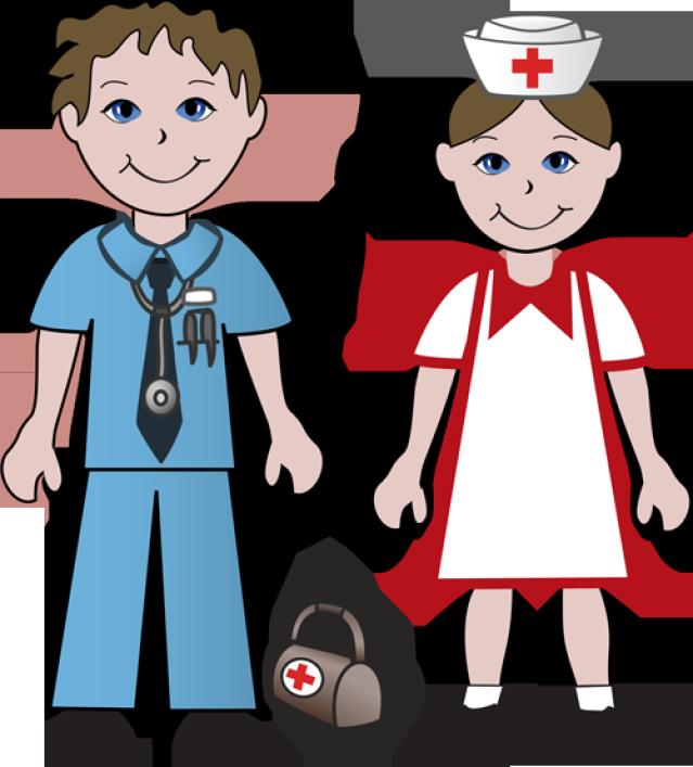 vector stock Free Clip Art Of Doctors and Nurses