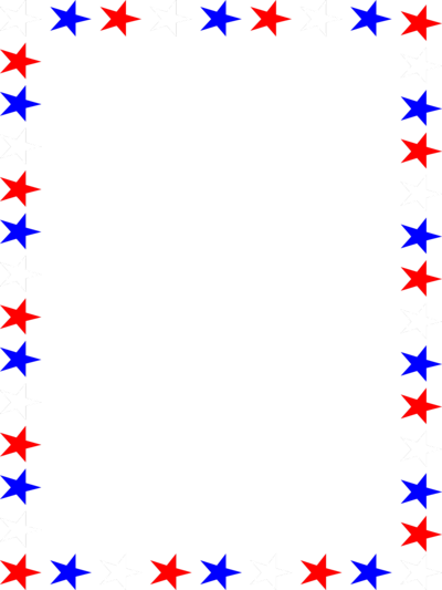 clip transparent download Clipart stars borders. Red white and blue