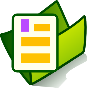 freeuse stock Document Folder Clip Art at Clker