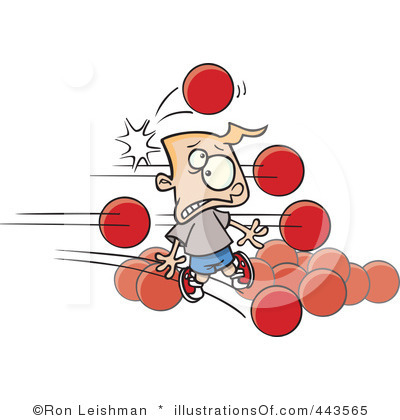 clipart free stock Clip art look at. Dodgeball clipart animated