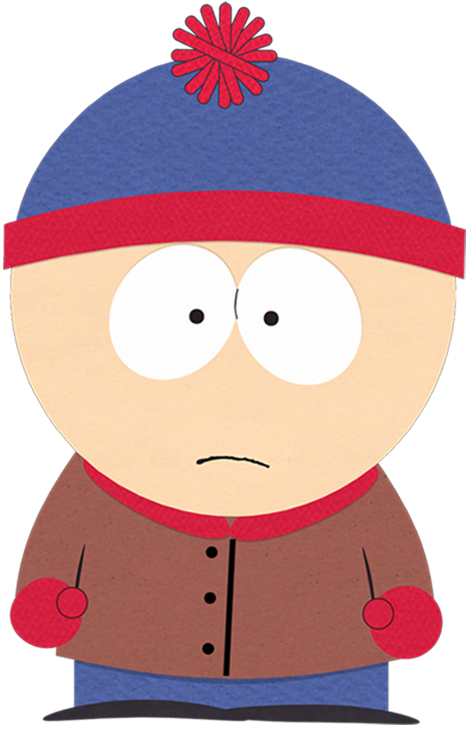 picture royalty free library Stan marsh south park. Grandparents clipart supe