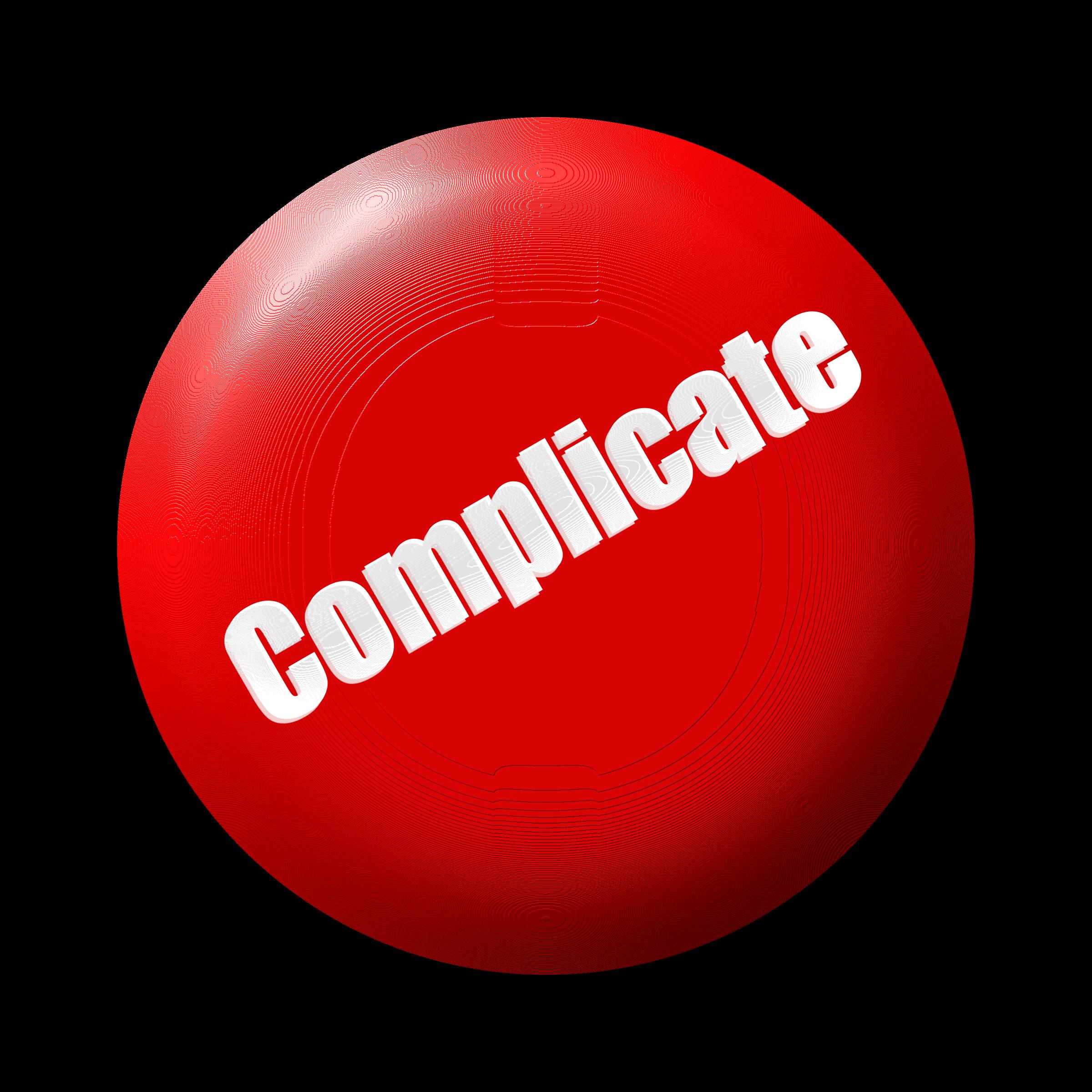 svg library download Clipart complicate button big. Kickball vector.