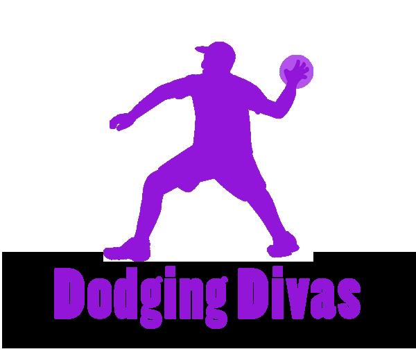 banner library stock Dodgeball Logo Sport