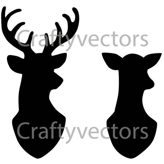 banner freeuse library doe svg deer outline #145233570