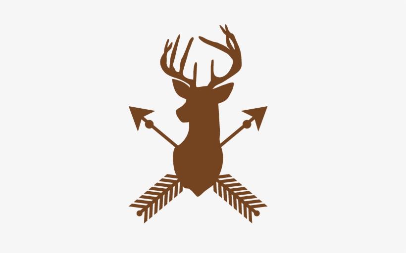 picture free Deer Arrow Silhouette Svg Scrapbook Cut File Cute Clipart