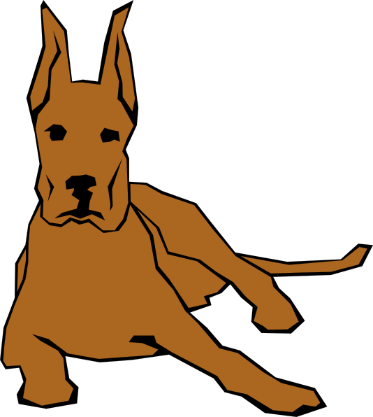 clip art transparent library free vector Dog