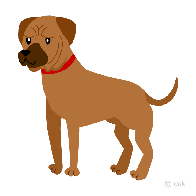 image free Tosa free picture illustoon. Dog clipart