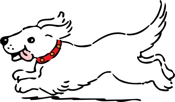 clip art free stock Dog clipart. White clip art at