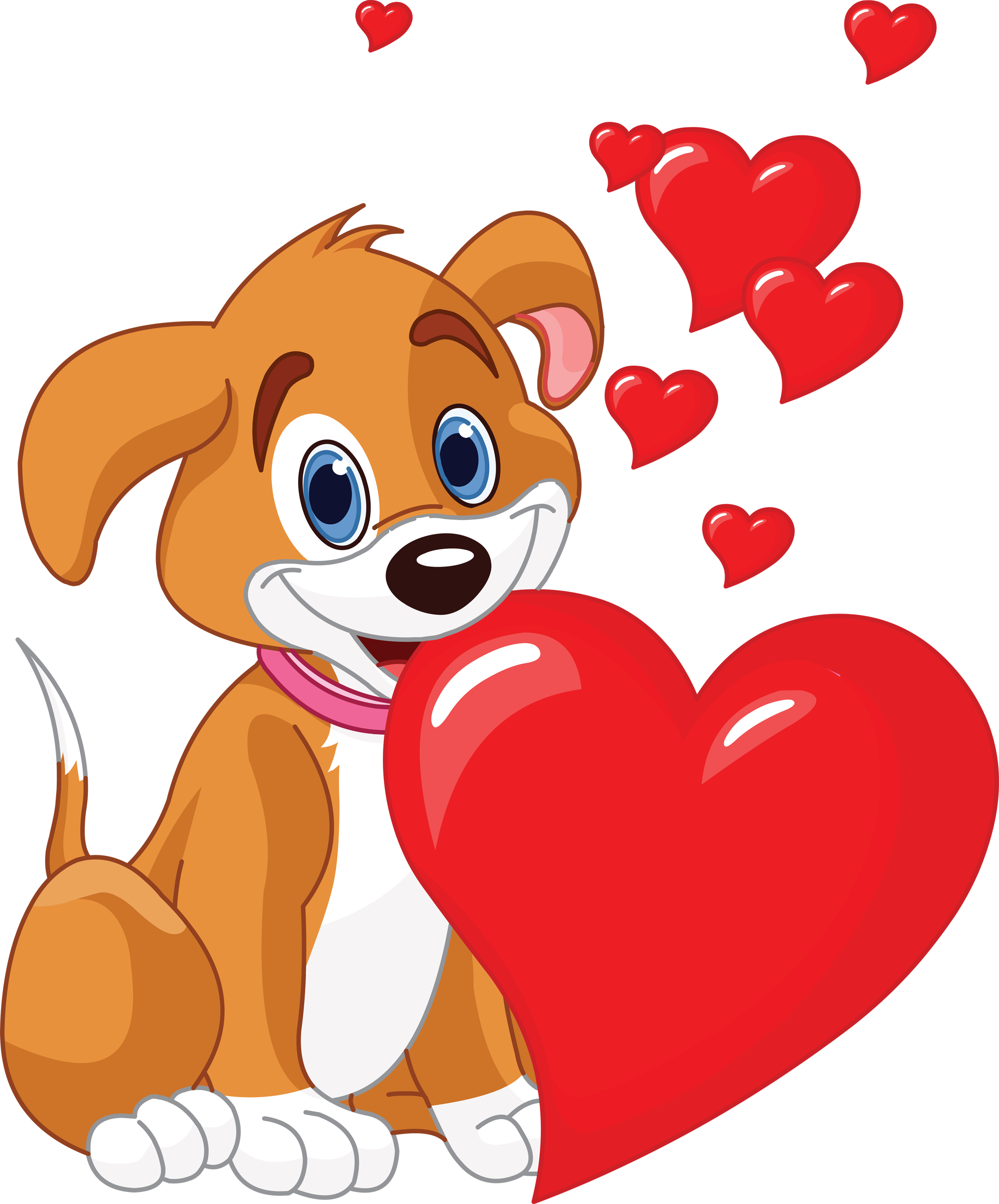 picture royalty free library Puppy love