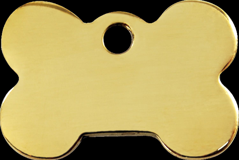 svg black and white stock Red Dingo Brass Tag Bone