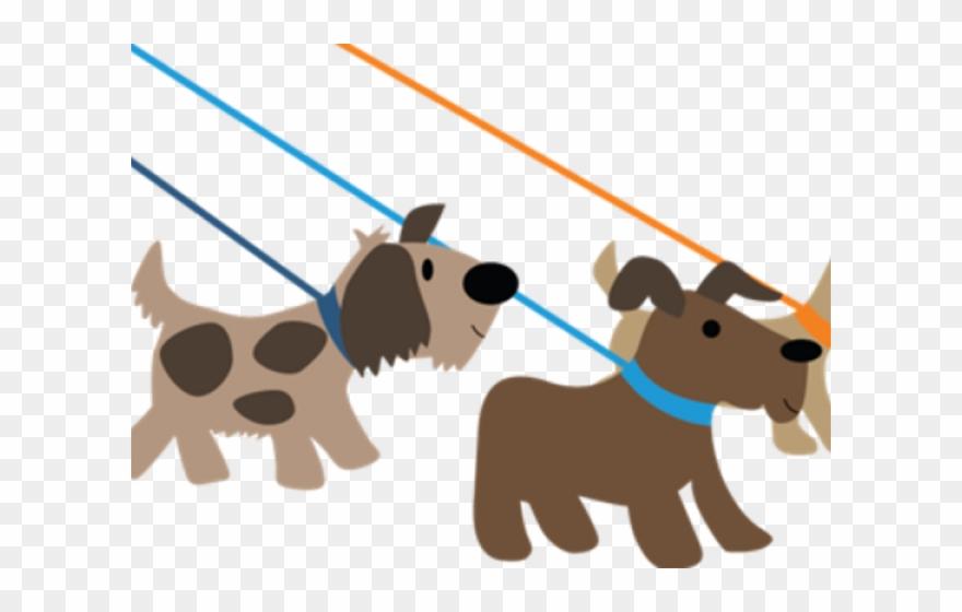 clipart free library Dog walking clipart. Pet walker clip art.