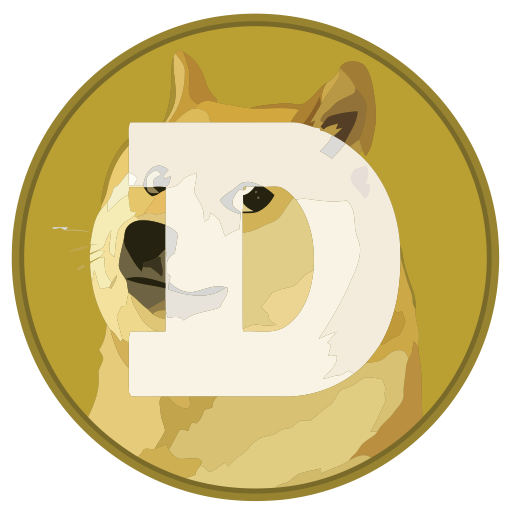 graphic library library Doge Icon