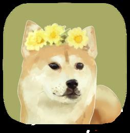 image stock shiba drawing doggo #102940905