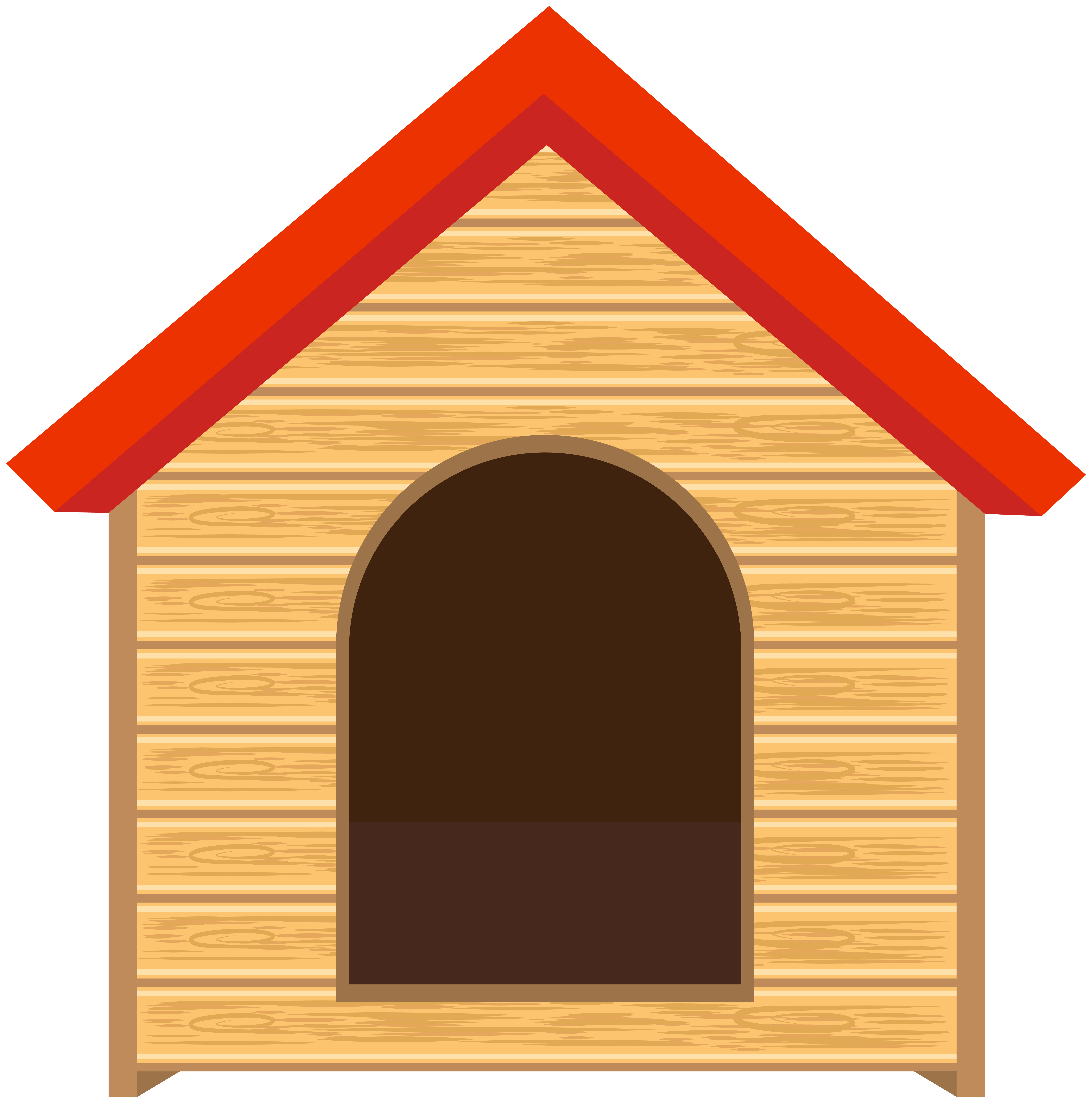 clipart black and white library Png clip art image. Doghouse clipart