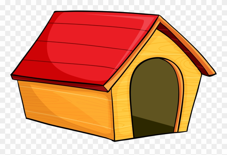 svg black and white library Doghouse clipart. Niches pinclipart .