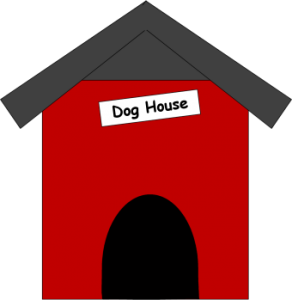 clipart transparent library Doghouse clipart. Panda free images cutedoghouseclipart.