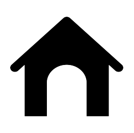 graphic black and white library Dog House Silhouette