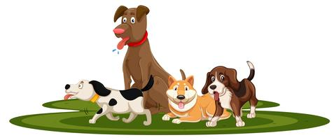 svg free library Dogs clipart. Dog free vector art.