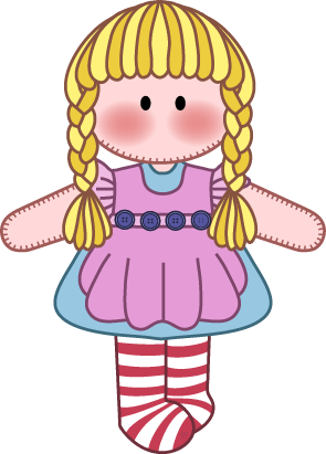 graphic royalty free download Free cliparts download clip. Doll clipart