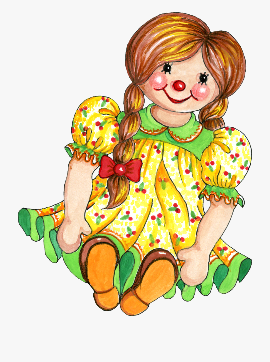 vector transparent library Clip art royalty free. Doll clipart