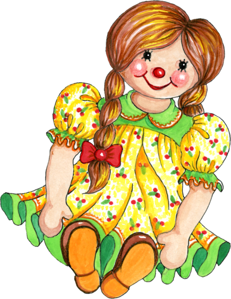 picture free library Old rag free on. Doll clipart