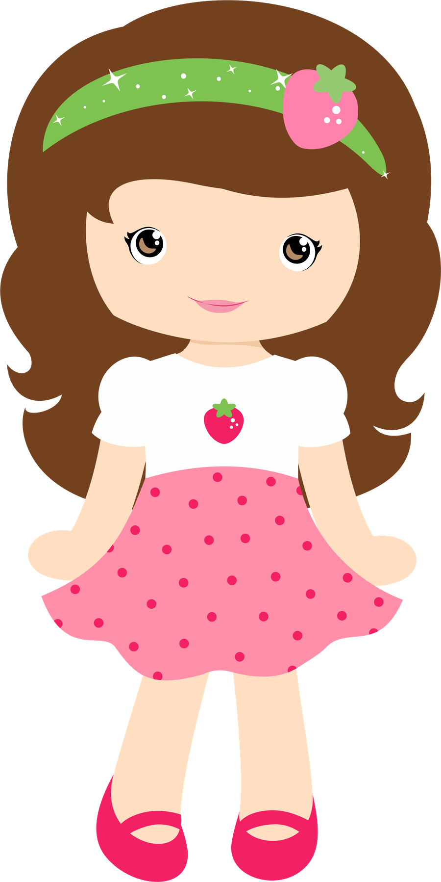 black and white download Doll clipart. Strawberry free on dumielauxepices