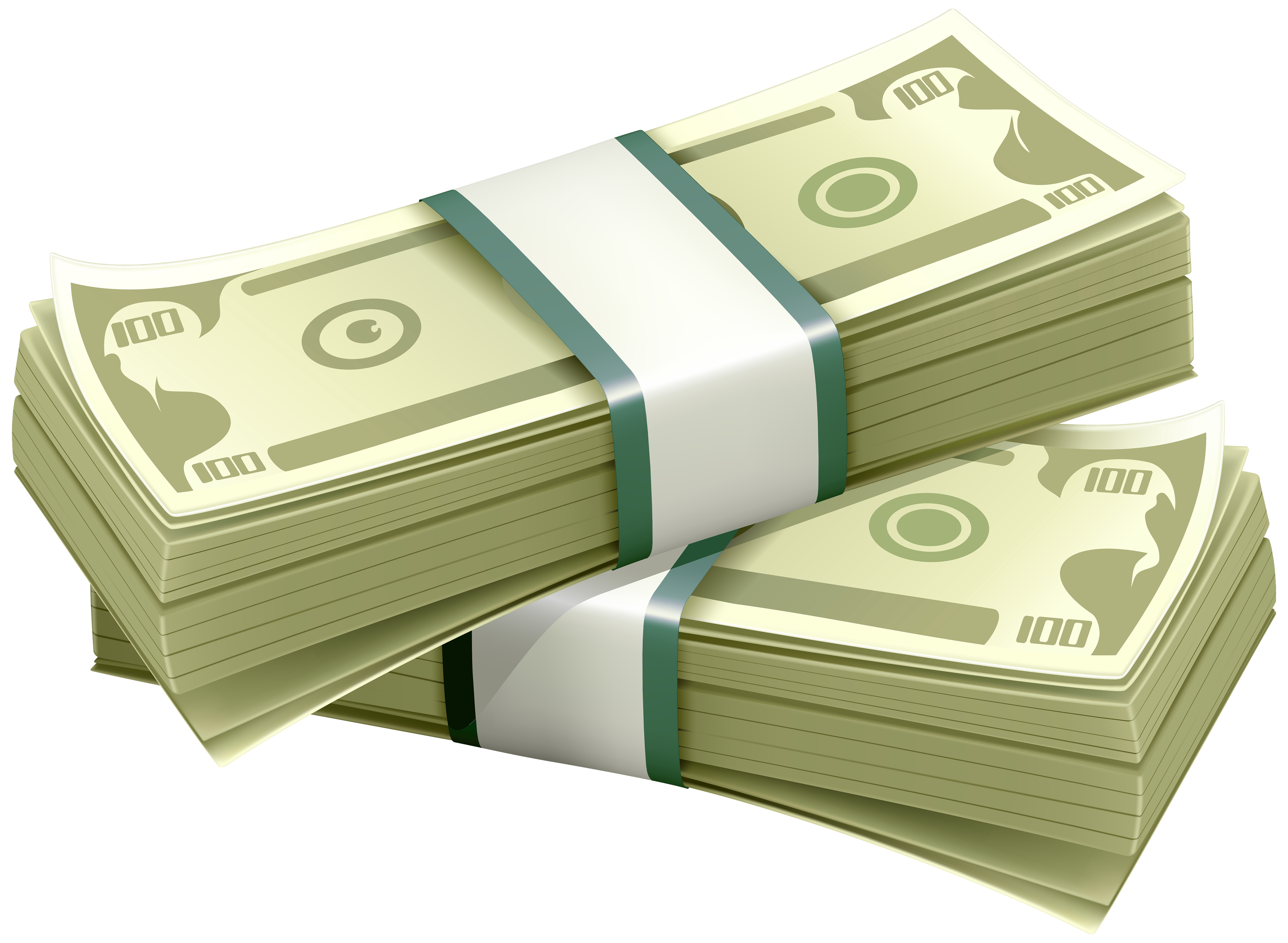 picture free library A clipart money. Wads of dollars png