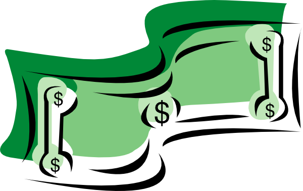 vector freeuse download Clip Art Money Stretching Dollars