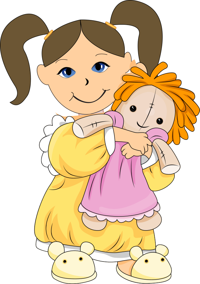 graphic transparent dolls clip art