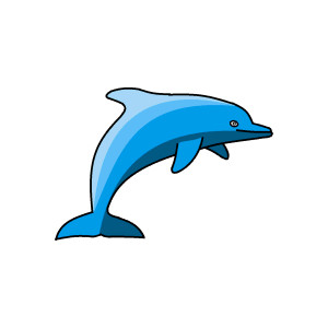 png freeuse Free Dolphin Swimming Cliparts
