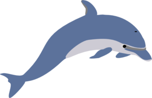 vector free library Vector dolphin outline. Clip art at clker