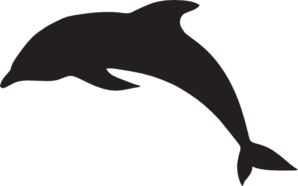 graphic free library Large Dolphin Clip Art at Clker
