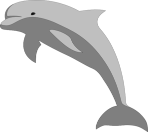 svg royalty free Dolphin Clip Art at Clker