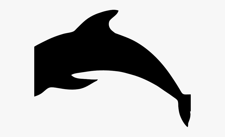 jpg royalty free stock Vector dolphin copyright free. Dolphins clipart shadow cliparts