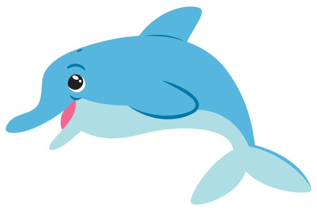 clipart black and white download Dolphin clipart. Fish png images with.
