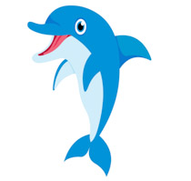image library library Free clip art pictures. Dolphin clipart.