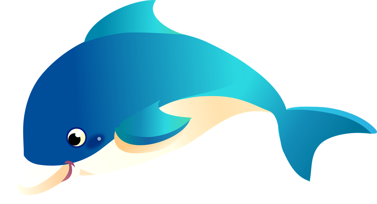 banner library stock Dolphin clipart. Dolphins free to use.