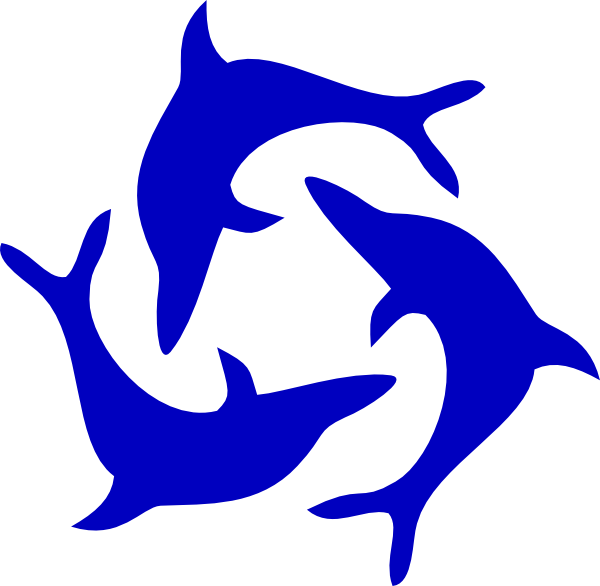 svg freeuse Dolphin clipart black and white. Image clip art png