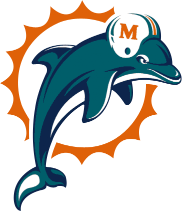 black and white download Vector dolphin psd. Miami dolphins logo official