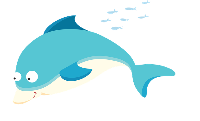 graphic freeuse Sea life dolphin the. Dolphins clipart.