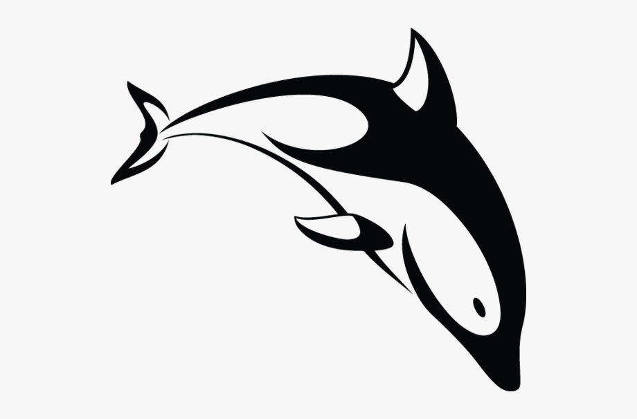 clip black and white library Dolphins Drawing Love