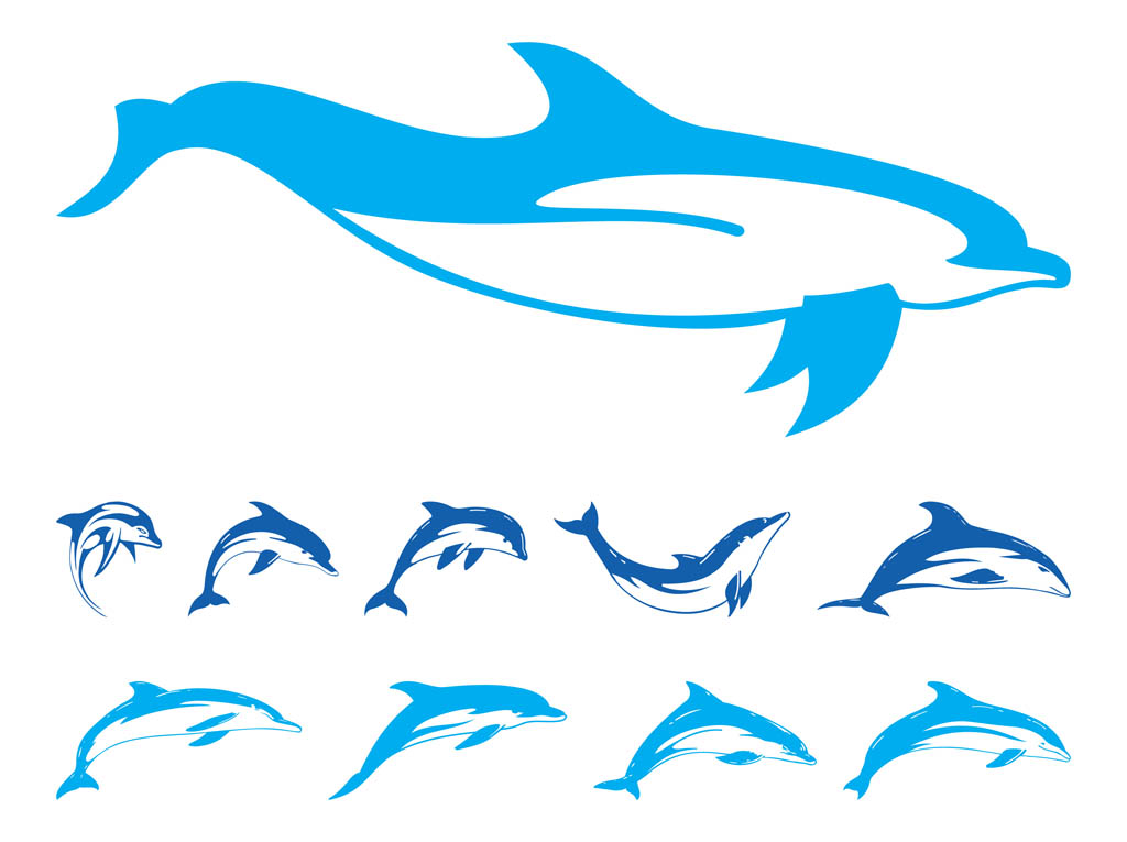 jpg black and white download Free cliparts download clip. Vector dolphin outline